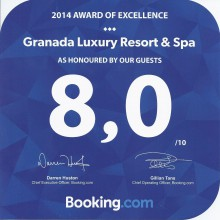 Booking.COM 2014 Award