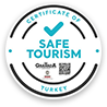 Safe tourism logo